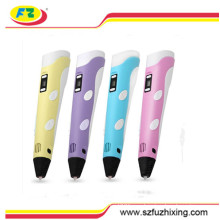 3D ABS Filament Promotional Plastic Drawing Pen for Kids