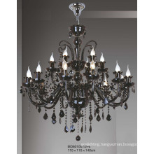Hotel Lustre Black Chandelier (MD60100/12+6)
