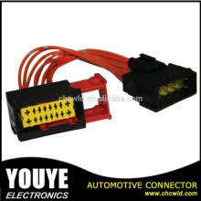 Fiação chicote e conector para automóvel