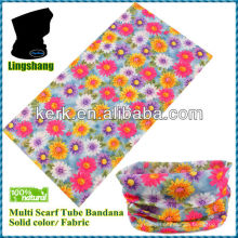 Promotional Round neck wholesalers bandanas Seamless bandana manufacture neck tube scarf bandana scarf magic scarf!