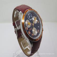 2015 Новый кожаный Многофункциональный часы (Джа-150120)