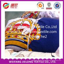 AB grade printed 100% polyester fabric stock ( low price)