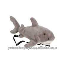 Fábrica al por mayor de animales en forma de mochila mochila mochila de tiburón
