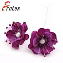 Single Stem Dekorative Qualität Künstliche Latex Blumen