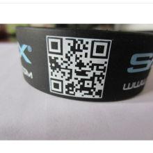 Wasserdichtes Silikon-Armband-weiches Handgelenk-Bügel (GZHY-SW-0016)