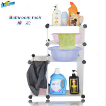 Low Price 3 Layer Storage Rack Bathroom Rack