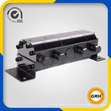 Гидравлический редукторный двигатель типа делитель потока