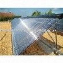 Section solaire en aluminium