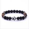 Evil eye Gemstone Crystal Bracelet