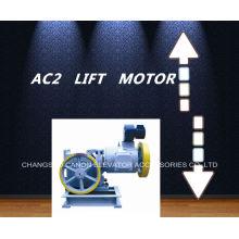 Motor de tração de engrenagem elevador carga AC-2