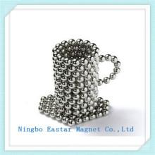 N42 Nickel Coating Health Care Bead Rare Earth Magnet