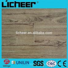 12mm piso laminado / v sulco AC3 piso de madeira / alta qualidade HDF preço laminado piso