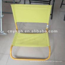 Cadeira de praia baixa portátil sem pés VLA-4012B