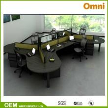 Ethospace Vier Person Büro Workstation BIFMA Standard (OMNI-ETHO-01)