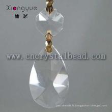 Perles de cristal de mode pour les bijoux ou lustre en cristal léger