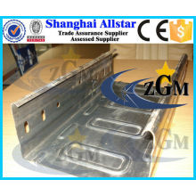 Automatic galvanized steel Cable tray plank roll forming machine, Cable tray roll making machine