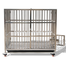 Foldable Stainlessl Steel Bar Dog Cage and Dog Crate For Sale