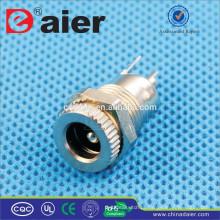 Daier Metal 2.1mm / 2.5mm Mini DC-099 DC Jack / / Conector Jack / Plugue Elétrico