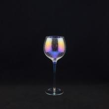 Bubble Weißweinglas mit bunter Beschichtung