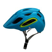 Capacete de mountain bike de material PC + EPS com viseira de sol