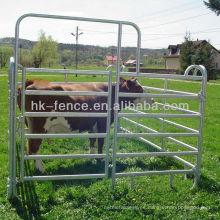 Paneles de acero para ganadería en barra como equipos para la cría de aves de corral para ganado Caballo o patio de cabras