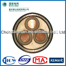 State Grid 10kV XLPE Insulated 3 *120 sq mm copper armoured cable price