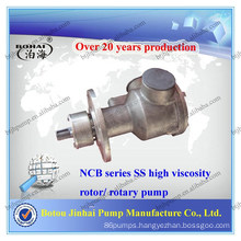 China NCB series stainless steel high viscosity pump for oil transfer