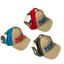 Dog Sun Hat Baseball Pet Hat Custom Logo Corgi Fighting Small Dog Large Dog Hat