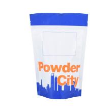 Biodegradabale Flexible Plastic Packing Frozen Sea Food Rice Coffee Tea Snack Fruit Bag Zip-Lock Reusable Nut Vacuum Compound Coffee Sachet