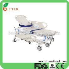 Manual patient transfer emergency ambulance stretcher
