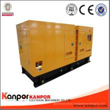 Silent Type 3 Phase Water Cooled 275kVA Diesel Generator Brand Engine
