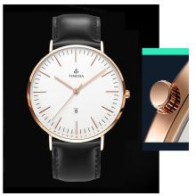 Mode beliebte Leder Uhren für Männer 72644
