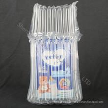 Saco de almofada de ar inflável reutilizável para leite em pó