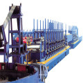 Steel profile pipe production line
