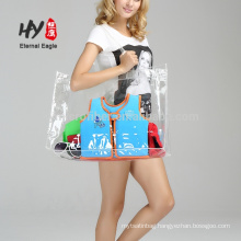 Transparent PVC material travel packaging waterproof bag