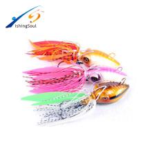 RJL007 trastos baratos de la pesca cebo artificial pez de goma del señuelo para el agua salada