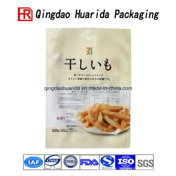 Transparent Colorful Potato Chips packaging Bag Food Packing Pouch