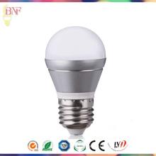 Серебр 2W/4W/6 Вт G45 СИД фабрики Лампа дневного света Е14/Е27 по оптовой