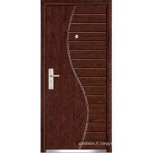Porte d'intérieur en bois (WX-SW-107)