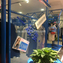 Painted Expanded Metal Mesh Panel Zaun