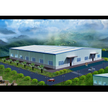 High Rise Steel Structure Building Fram
