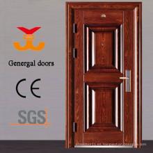 Puerta de acero externa de la seguridad del precio barato ISO9001