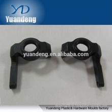 Maßgeschneiderte schwarz eloxierte 6063 aluminium cnc bearbeitete teile