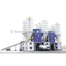 HZS120 planta de mistura de betão, planta de betão Fábrica de mistura de cimento de concreto