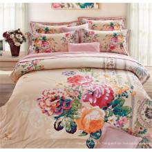 Home Textile Duvet Cover Ensemble de literie 3D Queen and King Size China Fournisseurs