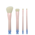 4pc Ombre Holzgriff Make-up Pinsel Set