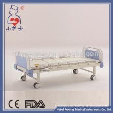 Camas de hospital médico de 2 manivelas revestidas com epóxi à venda