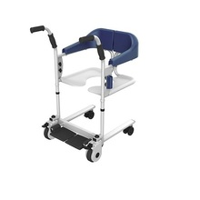 Adjustable height wheelchair wheel chair for patient