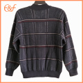 Casual Half Zip Jumper Hombres Lana Sweater Design