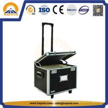 Grande caja, caja de la carretilla de aluminio para el almacenamiento de información y herramienta (HW-2001)